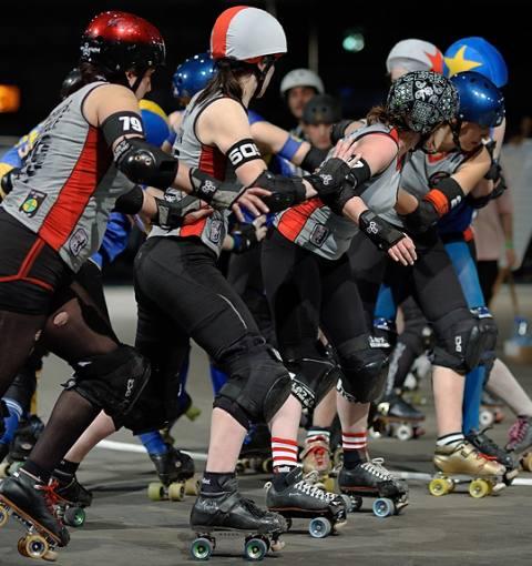 Stockholm Roller Derby 181:185 Berlin