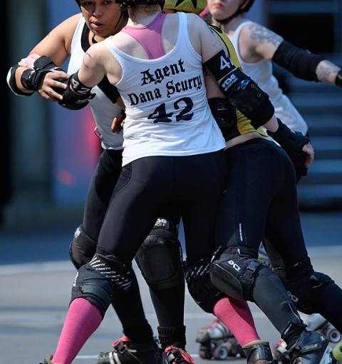 Central City 149:208 Glasgow Roller Derby