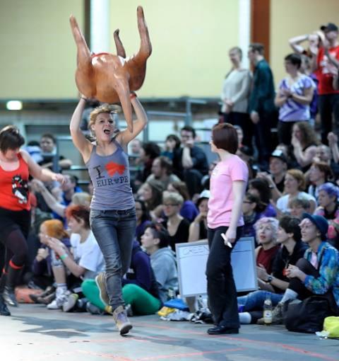 Helsinki Roller Derby 179:169 Gent