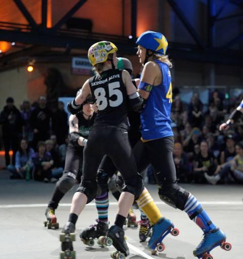 Edinburgh 139:149 Stockholm Roller Derby